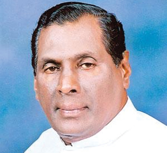Labour and Trade Union Relations Minister W. D. J. Seneviratne