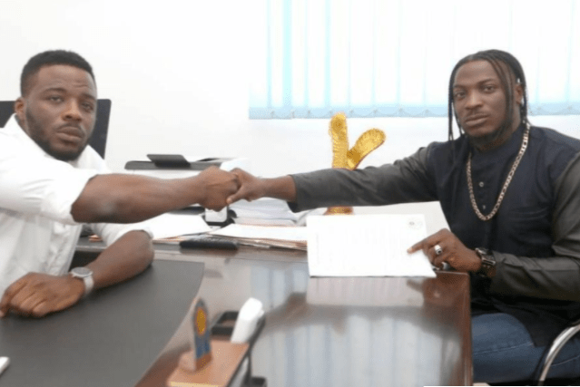 'You sold my songs to individuals without my consent and didn't pay me' - Peruzzi fires back at King Patrick