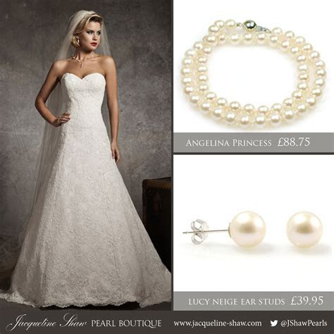 Picking the Perfect Pearls for Your Wedding Dress