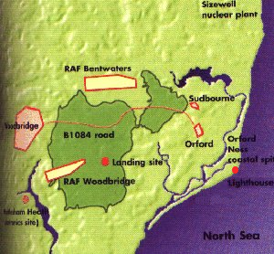 Rendlesham Forest and bases
