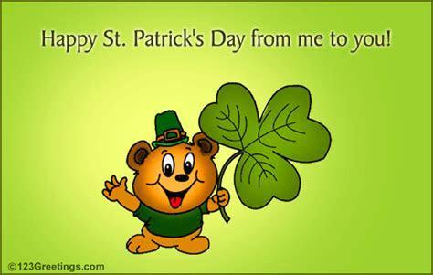 Send A St. Patrick's Day Wish! Free Bit O' Fun eCards