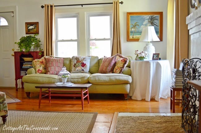 From My Front Porch To Yours-How I Found My Style Sundays-living room | Cottage at the Crossroads