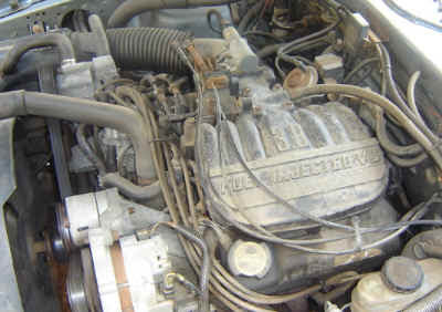 Ford 1996 thundrbird with an 3.8L non- SC. The upper ...