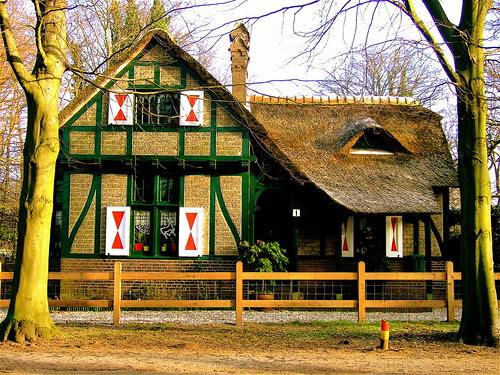 THE HAGUE: Porters house of Clingendael Estate
