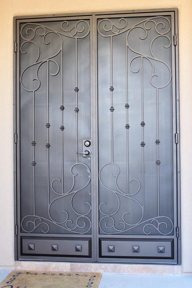 Model 524 Double Security Screen Doors