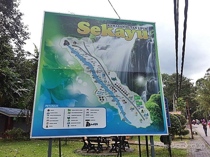 Tempat menarik di Terengganuair terjun sekayu