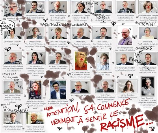 licra organigramme racisme
