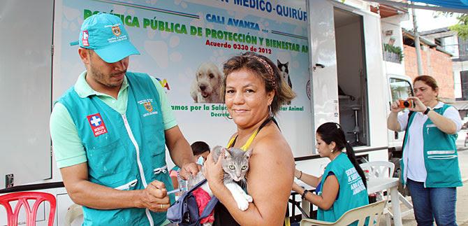 Zoonosis realizó jornada de salud para mascotas de la comuna 6