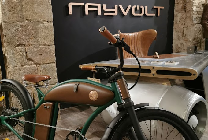 RAYVOLT, VINTAGE ELECTRIC BICYCLES WITH SPECTACULAR DESIGN