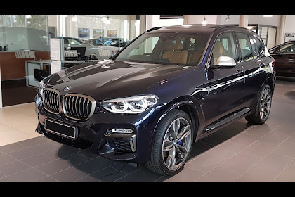 2019 Bmw X3 M40i Carbon Black