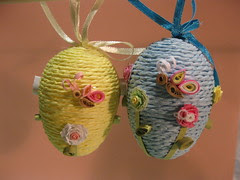 Quilled Butterfly Eggs