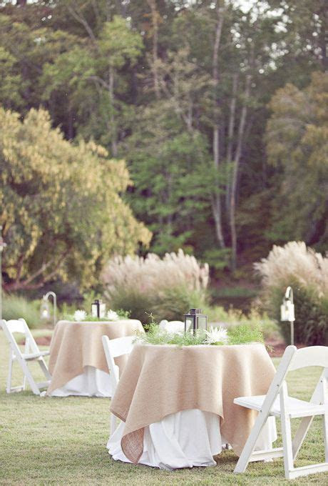 17 Best ideas about Burlap Tablecloth on Pinterest
