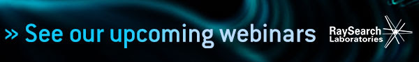 RaySearch Laboratories - upcoming webinars