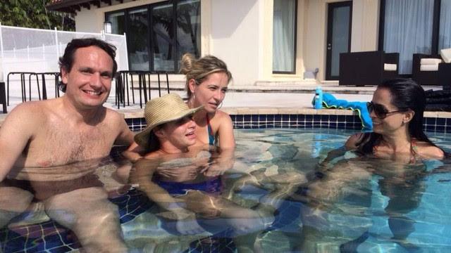 Com o apoio do doutor Antonio Marttos, Lais Souza faz sua recuperação da lesão na medula em Miami