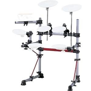 buy cheap electronic drum kits digital drum set yamaha dtxpress iii silver elec drum rack system. Black Bedroom Furniture Sets. Home Design Ideas