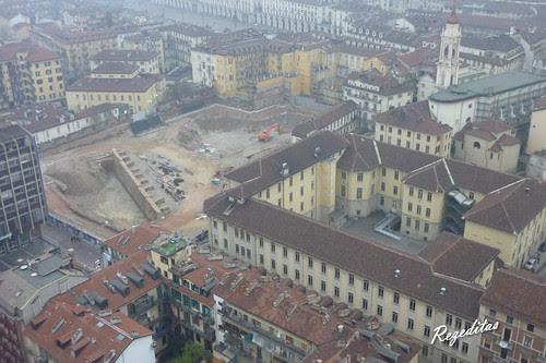 Paseando por Turin, vista desde la Mole