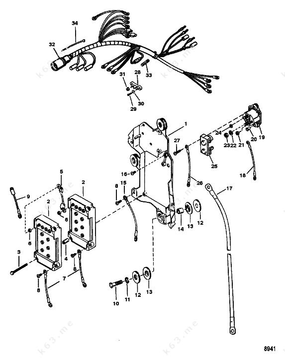 31 Mercury Outboard Starter Solenoid Wiring Diagram