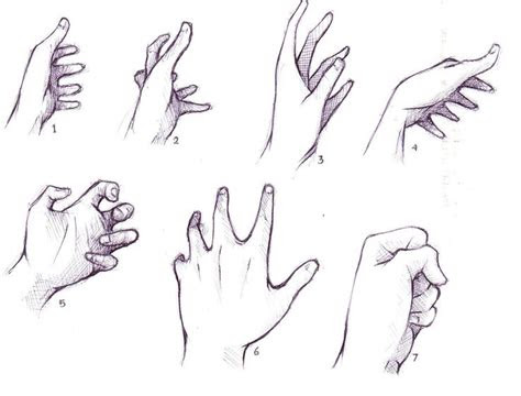 hand drawing reference anime hand drawing reference hand