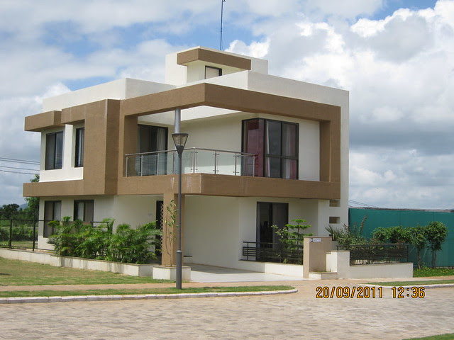 "Sample Bungalow at  Kolte-Patil I-Ven ""Special"" Township at Marunje Hinjewadi Pune"