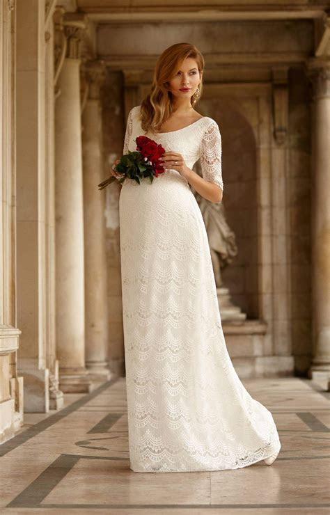 Verona Maternity Wedding Gown (Ivory)   Maternity Wedding