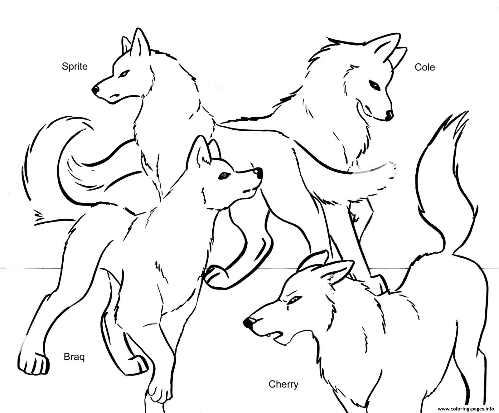 Wolf Howling At The Moon Coloring Pages at GetColorings ...