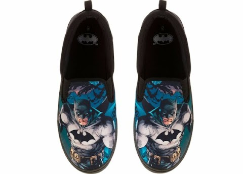 Dc Comics Batman Slip On Shoes