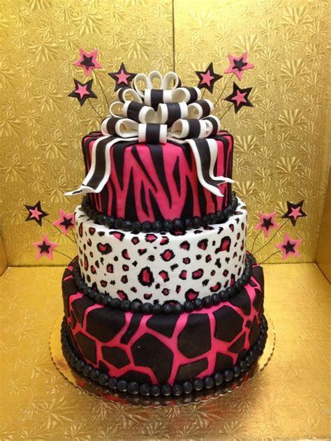 Leopard Print Cakes ? Decoration Ideas   Little Birthday Cakes