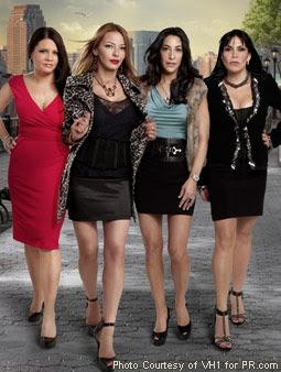 Karen Gravano, Drita D'avanzo, Carla Facciolo & Renee Graziano in Mob Wives