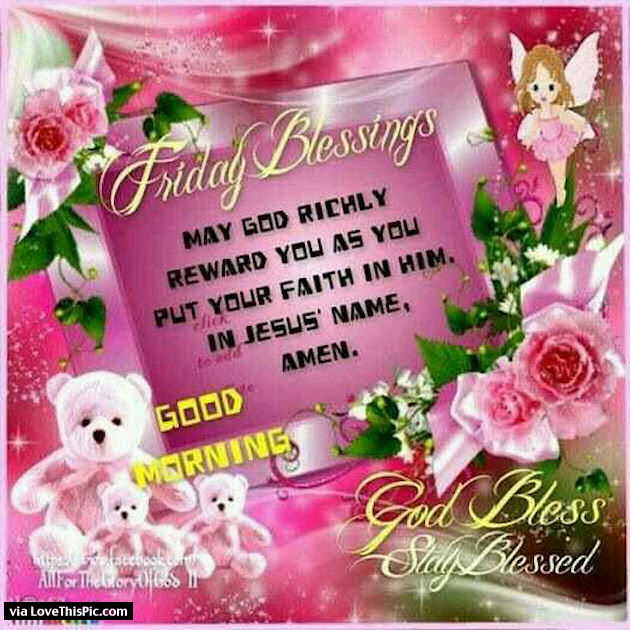 Good Morning Friday Blessings 70 Pieces Jigsaw Puzzle