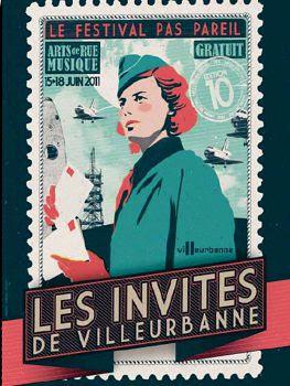 Affiche Invites Villeurbanne 2011.