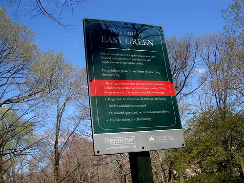 The East Green, Central Park