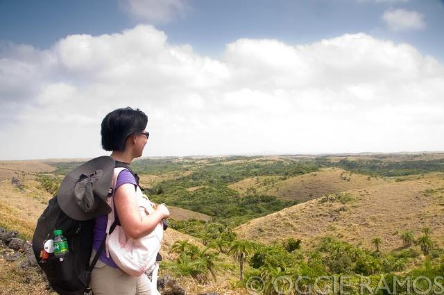 Batanes - Itbayat Loid Surveying the Mauyen Landscape