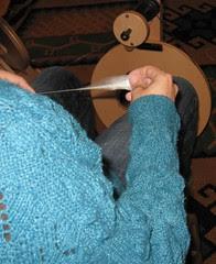 silk spinning 1
