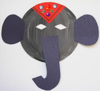 elephant crafts preschool - Google Search