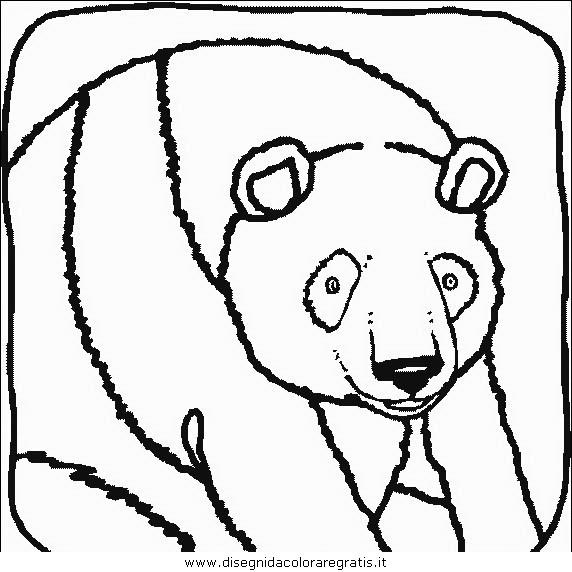 Disegni Di Cina Da Colorare Panda Orso Immagini Da Colorare Panda