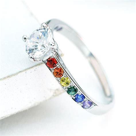 Best 25  Lesbian wedding rings ideas on Pinterest