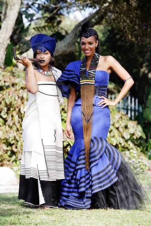 Traditional Wedding Dress Xhosa