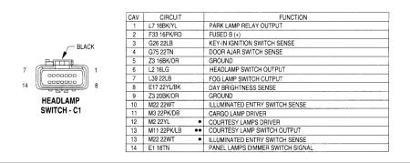 Headlight Wiring Diagram: I Am Looking for a Wiring ...