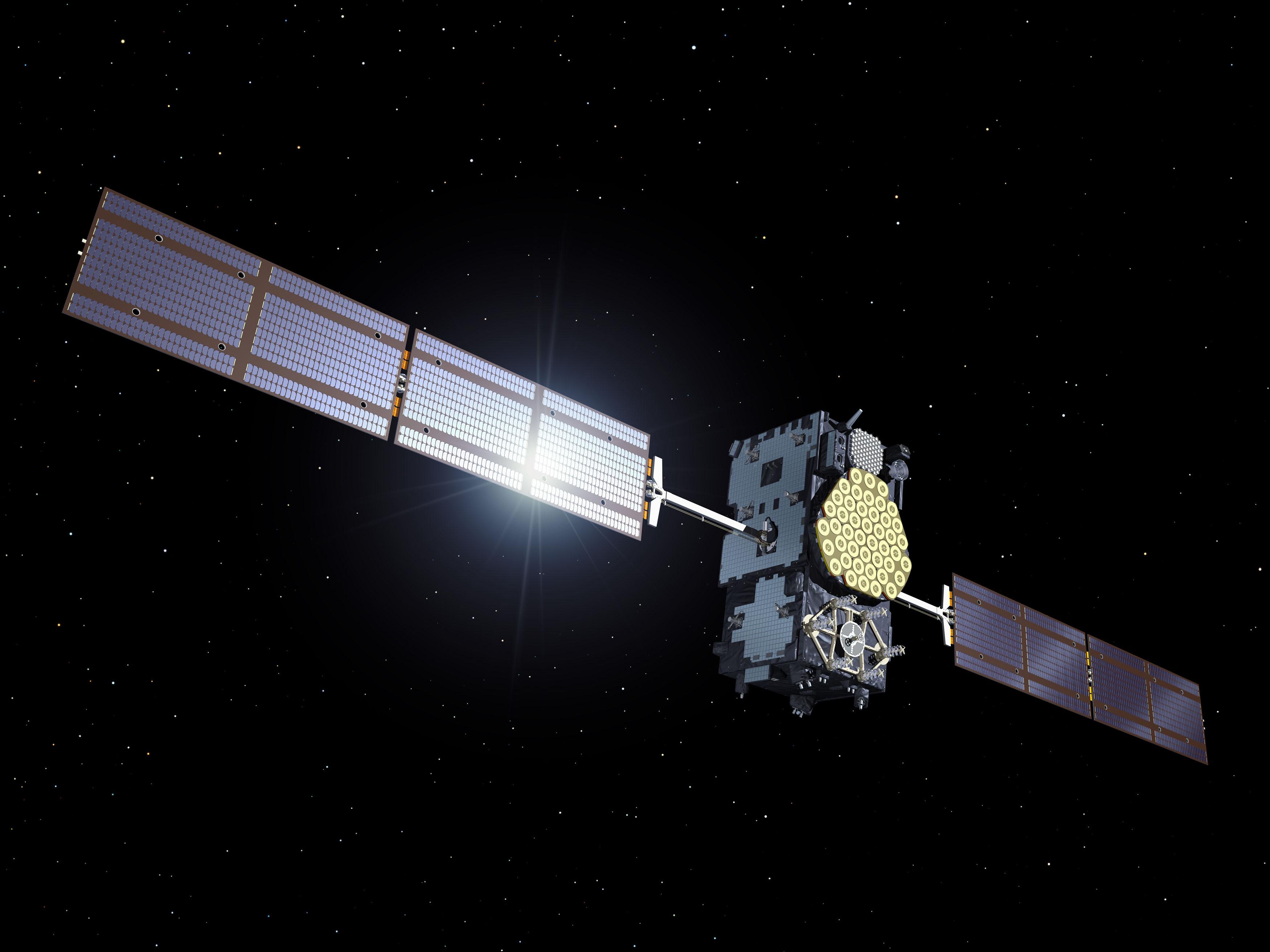 Satélite de la red Galileo.
