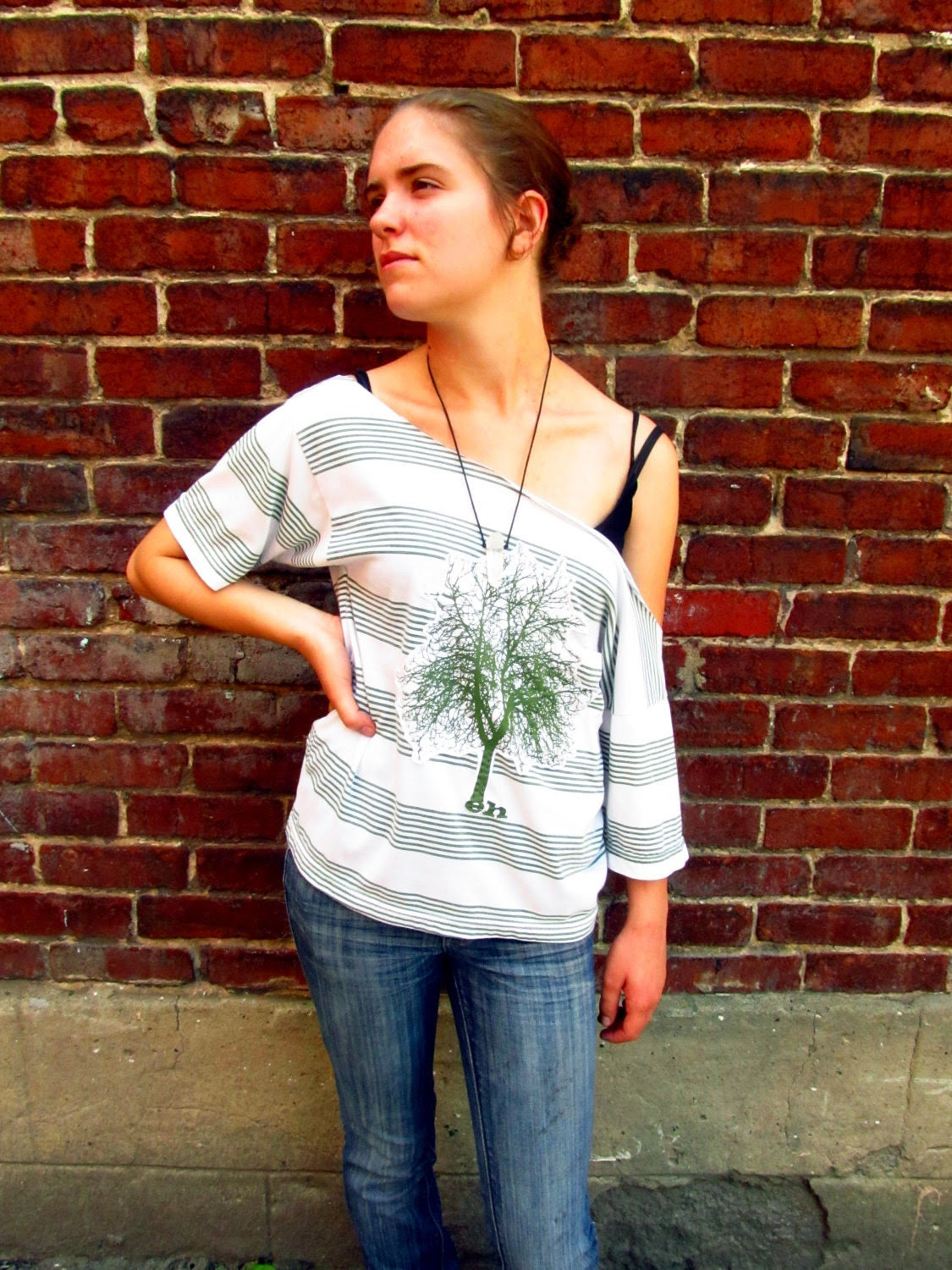Harmonious Upcycled Top