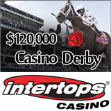 Casino Derby Horse Racing Classic Begins this Week at Intertops Casino