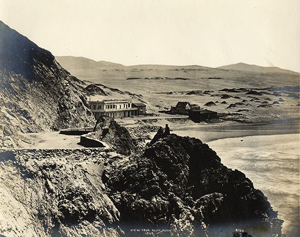 View from the Cliff House 1865