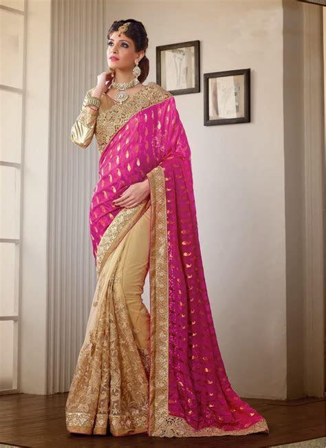 Designer Saree For Wedding Reception Modern   Everytime