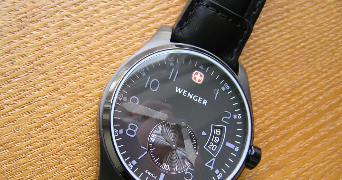 watch reviews by mcv  review of wenger swiss army