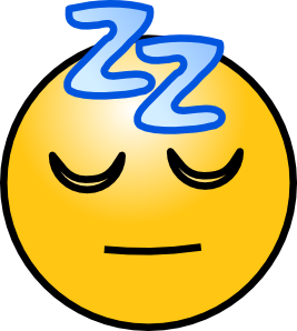 Snoring Sleeping Zz Smiley Clip Art