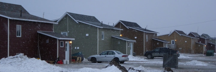Chisasibi maisons nord du Québec