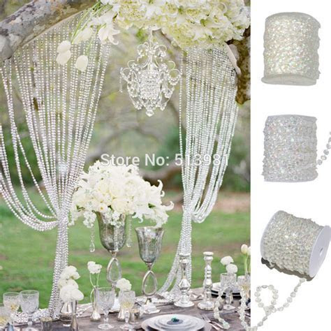 AB 10mm *30 Meters Glass Crystal Beads Curtain Living Room