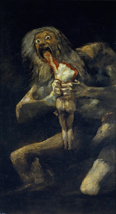 Saturn devouring young 400