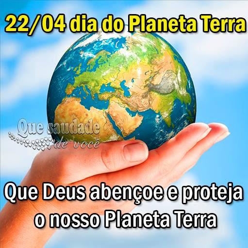 Dia do Planeta Terra Imagem 1