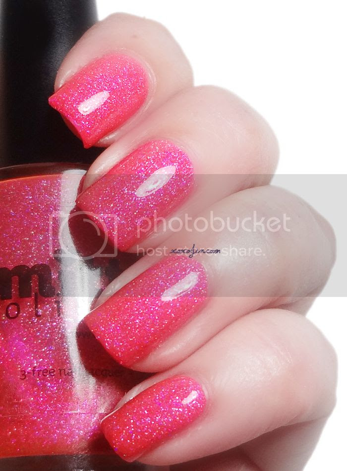 xoxoJen's swatch of Smitten Polish In October, We Wear Pink